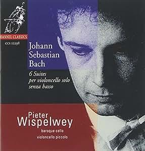 Johann Sebastian Bach:  6 Suites per Violoncello Solo Senza Basso