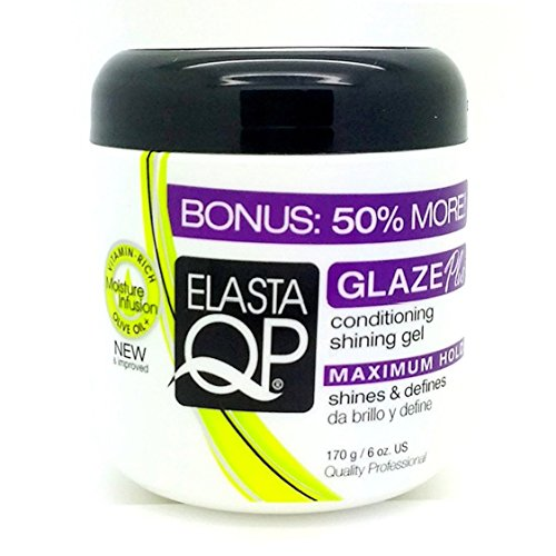 Elasta QP Conditioning Maxium Hold Shining Gel for Unisex, 6 (Conditioning Glaze)