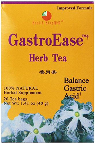 Health King  GastroEase Herb Tea, Teabags, 20 Count (Gastroease Herb Tea)
