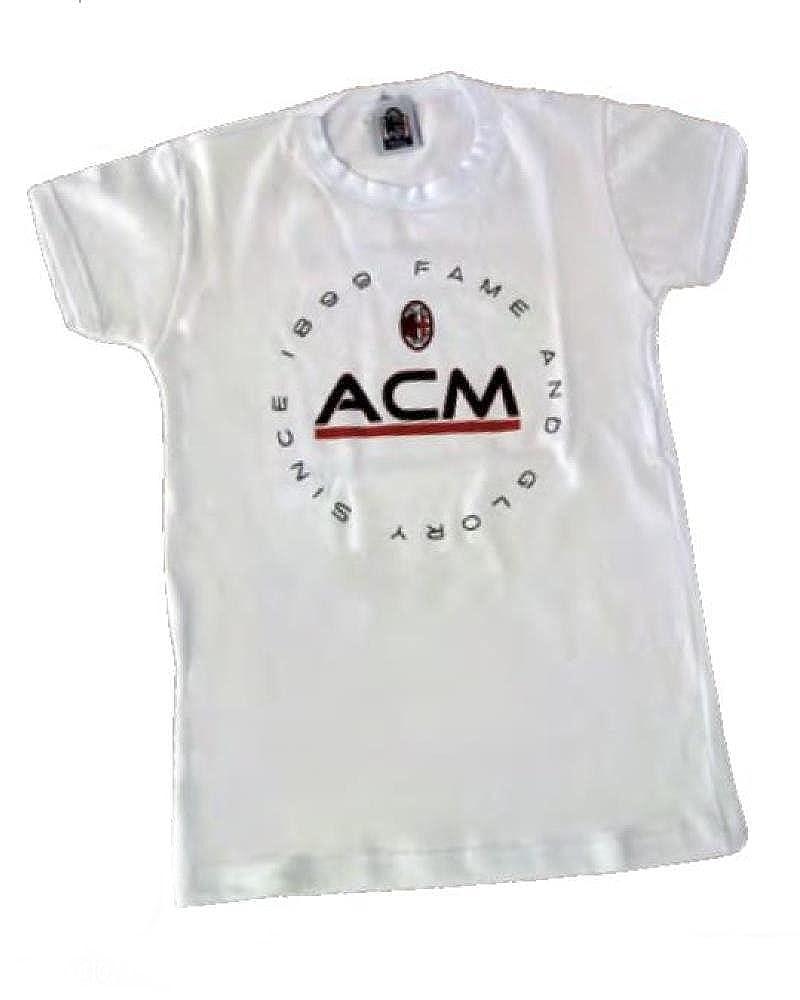 T-shirt Bimbo maglietta bambino abbigliamento ufficiale Milan prima infanzia *19604 A.C. Milan