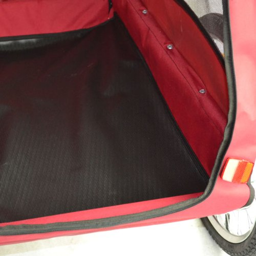 Doggyhut Large Pet Bike Trailer / Jogger Kit Dog Bicycle Carrier Red 7030201 by Veelar (Image #3)