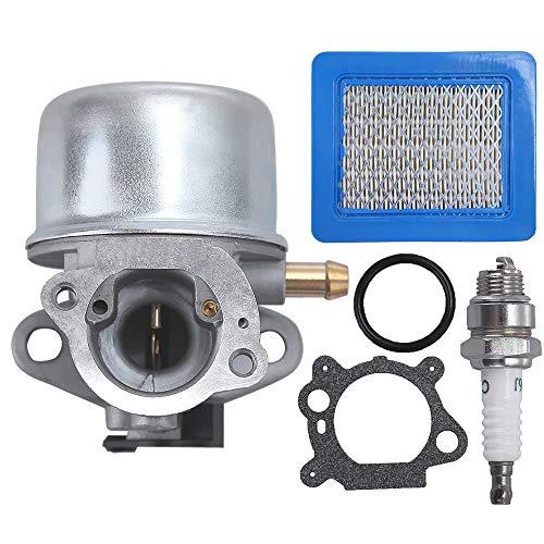 for Troy Bilt Z-Start 6 5HP Mower 21 Briggs &Stratton Carburetor Air Filter  Kit