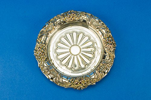 CHRISTOFLE Silver Plated Wine Bottle Coaster Empire Serving