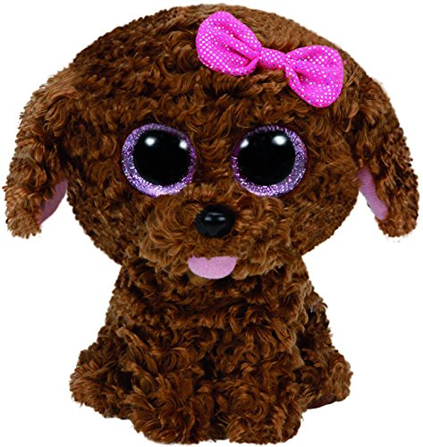 Ty Beanie Boos Maddie The Brown Dog with Bow Plush for sale  Delivered anywhere in Canada