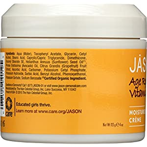 Jason Pure Natural Moisturizing Creme, Age Renewal Vitamin E 25,000 I.U., 4 Ounce