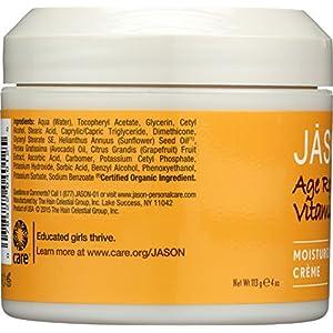Jason Pure Natural Moisturizing Creme, Age Renewal Vitamin E 25,000 I.U., 4 Ounce