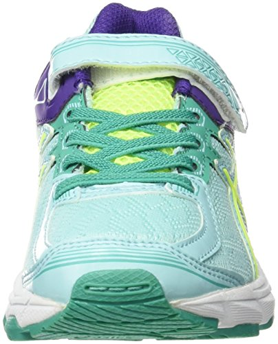 Asics GT 1000 4 PS - Zapatillas de running para niño, color rosa / verde / azul, talla 27 Varios colores (Royal /         Black /         White)