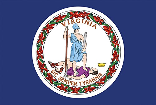 virginia state flag decorative usa