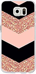 Galaxy S6 Edge Case,Dseason Samsung Galaxy S6 Edge Hard Case **NEW** High Quality Unique Design Protective Shiny pink