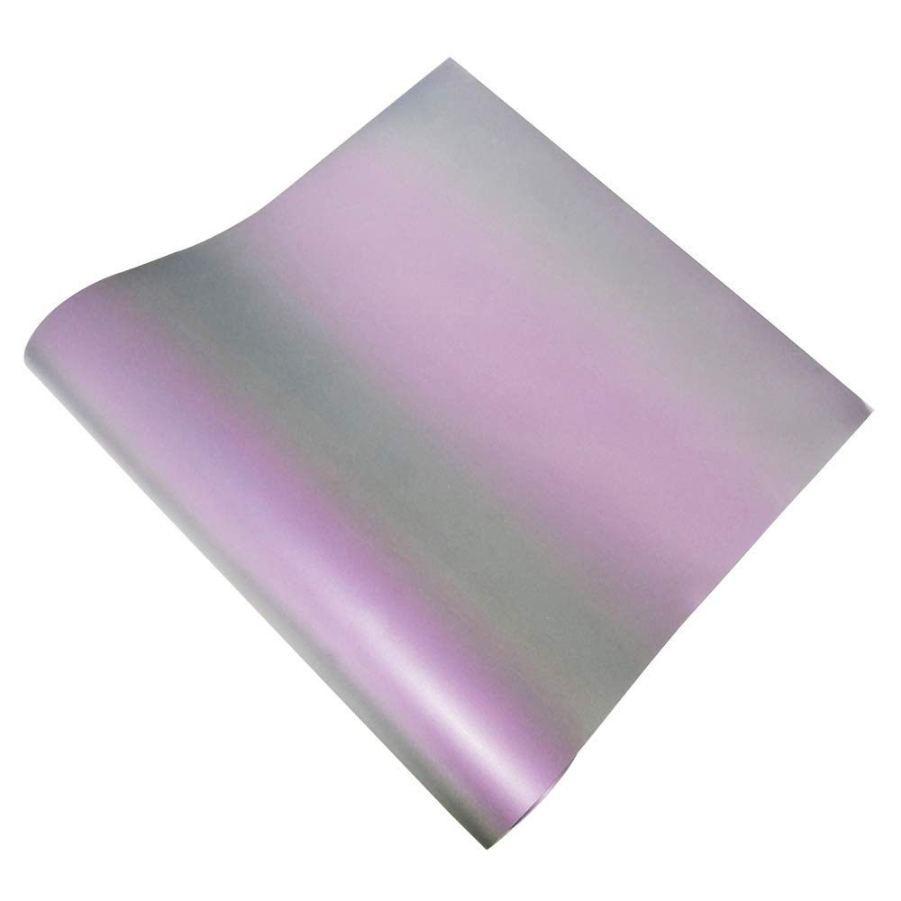 075e47486 Amazon.com: Holographic Reflective Heat Transfer Vinyl Colorful Rainbow HTV  Under The Light with Heat Press for DIY T-Shirt 12 by 20 inch 2  Sheets/Bundle