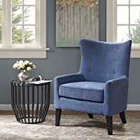 Carissa Shelter Wing Chair Blue See below