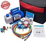 Best C Vacuums - NewPosition 4CFM 1/3HP Air Vacuum Pump HVAC A/C Review