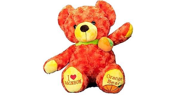 Vobell relleno naranja oso de peluche juguete 19 pulgadas: Amazon.es: Juguetes y juegos