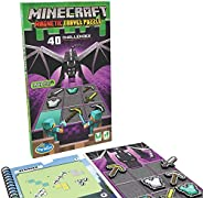 ThinkFun Minecraft Magnetic Travel Puzzle Logic Game & STEM Toy For Kids Ages 8