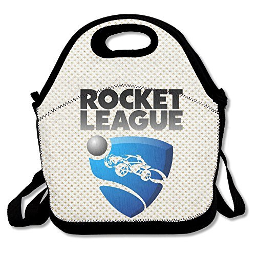 Rocket Game League 2 Lunch Bag Travel Zipper Organizer Bag, Waterproof Outdoor Travel Picnic Lunch Box Bag Tote With Zipper And Adjustable Crossbody Strap - Bill Cosby Costume