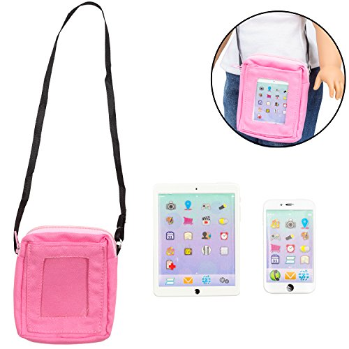 Dress Along Dolly Phone and Computer Tablet Set for American