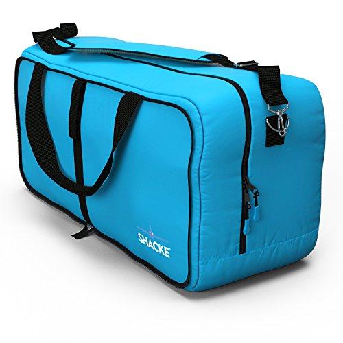 Shacke Duffel XL - Large Travel Duffel Bag - Foldable w/Memory Foam Shoulder Pad
