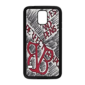 Custom High Quality WUCHAOGUI Phone case BVB - Black Veil Brides Music Band Protective Case For Samsung Galaxy S5 - Case-3
