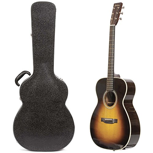 Eastman E20 Orchestra Model Traditional Flattop Sunburst Finish Acoustic Guitar with Hardshell Case