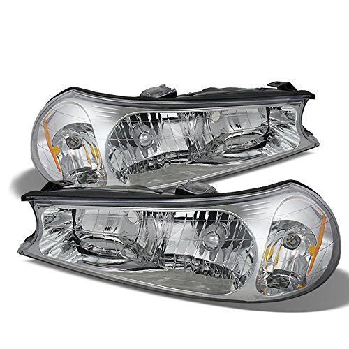 ACANII - For 1998 1999 2000 Ford Contour Headlights Headlamps Replacement 99-00 Driver + Passenger Side