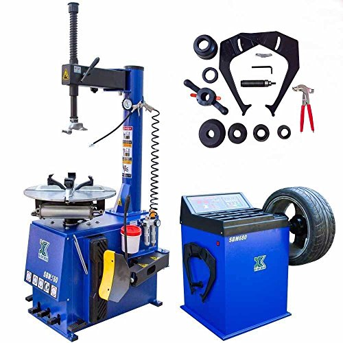 A+++1.5 HP Tire Changer Wheel Changers Machine Combo Balancer Rim Clamp 580 680 …
