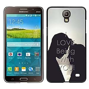 Stuss Case / Funda Carcasa protectora - ME ENCANTA ESTAR CONTIGO - Samsung Galaxy Mega 2