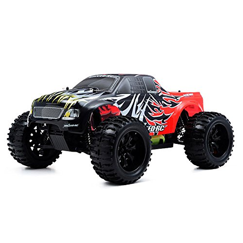 Exceed RC 1/10 2.4Ghz Electric Infinitive EP RTR Off Road Truck Sava Red