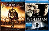 Fantasy & Horror Adventure Set - Immortals (Blu-ray/Digital Copy 2-Disc Set) & The Wolfman (2-Disc Unrated Director's Cut) 2-Movie Bundle