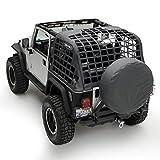 Smittybilt 521035 C.Res Sistema de retención de Carga para Jeep Wrangler YJ 1992-95