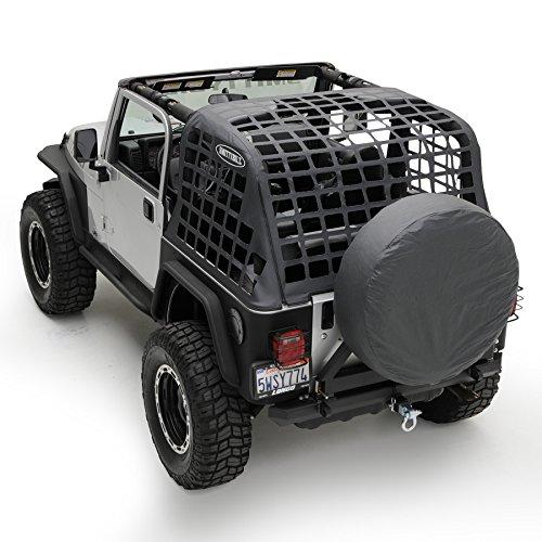 Smittybilt 521035 C.RES Cargo Restraint System for 1992-95 Jeep Wrangler (1994 Jeep Wrangler Yj)