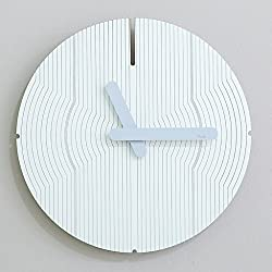JLRQY Wall Clocks Mute Modern Creative Clock Circular For Home And Office 12Inch,D
