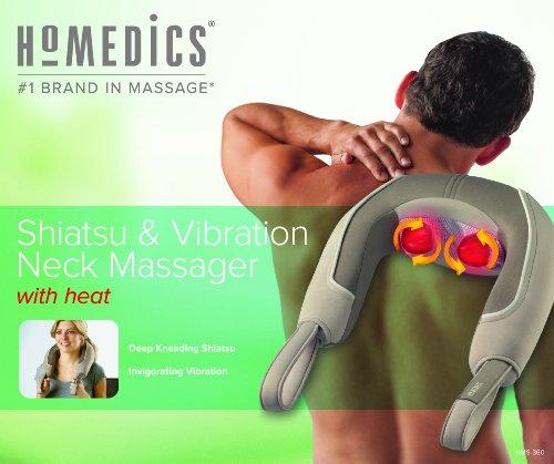 031262054043 - HoMedics NMS-360 Shiatsu and Vibration Neck Massager carousel main 2