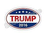 *Oval Car Magnet* Trump Bumper Sticker Magnet O131