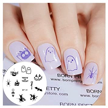 Amazon Born Pretty Nail Art Stamp Template Image Plate