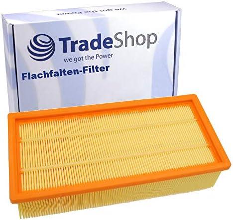 Filtro de pliegues planos de repuesto para
