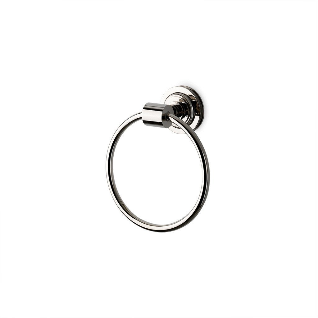 Waterworks Aero Towel Ring in Brushed Nickel