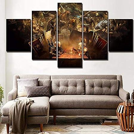 kuamai Lienzo HD Imprimir Imágenes Marco De La Sala ...