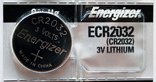 Energizer CR2032 Lithium 3v Coin Cell Button CMOS Battery for Computer Motherboards (Motherboard Battery)