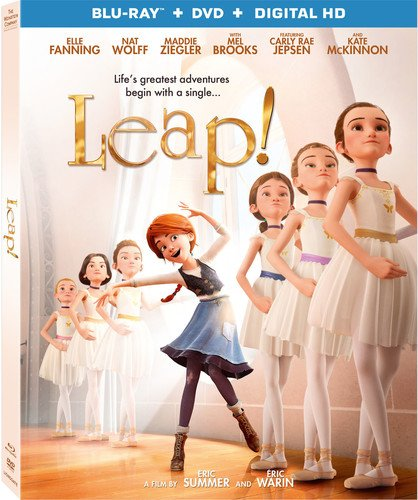 Leap! (With DVD, Ultraviolet Digital Copy, 2 Pack, Widescreen, Digital Theater System)