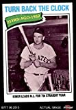 1977 Topps # 437 Turn Back The Clock Ralph Kiner Pittsburgh Pirates (Baseball Card) Dean's Cards 6 - EX/MT Pirates