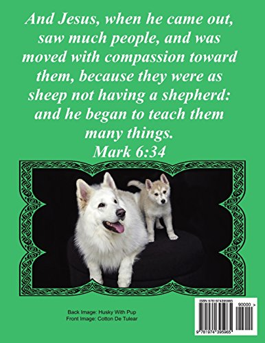 Bible Word Search Celebrating God's Creation Volume 9: Mark #2 Extra Large Print (Bible Word Find Dog Lover's Edition) image 2