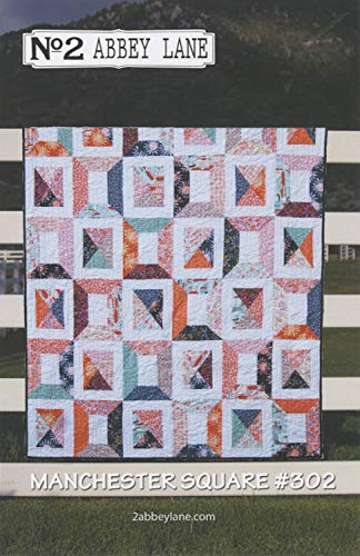 Manchester Square Quilt Pattern by Abbey Lane Quilts #302 60