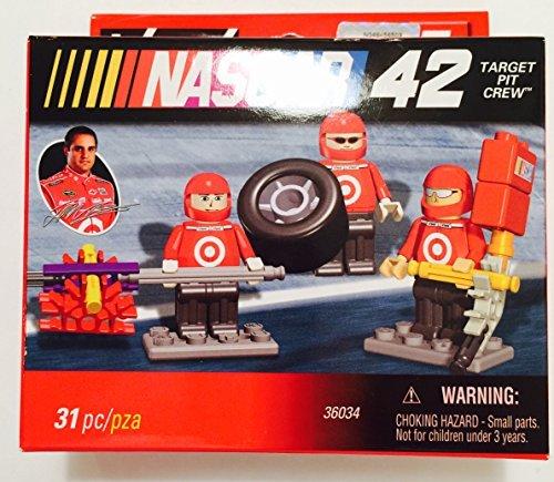 Montoya Target - K'nex NASCAR Juan Montoya #42 Target Pit Crew