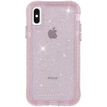 Case Mate Iphone Xs Max Case Protection Collection Iphone 6 5 Sheer Crystal Blush