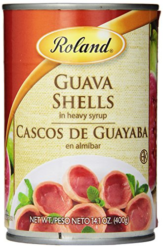 Roland Guava Shells in Heavy Syrup, 14.1 Ounce ()