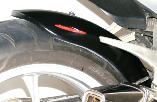 (Powerbronze 300-H120-003 Rear Hugger to fit Honda VFR1200 and VFR1200X Crosstourer in gloss black)