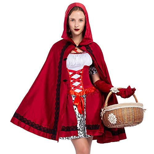 Disfraz Caperucita Roja Halloween Cosplay Carnaval