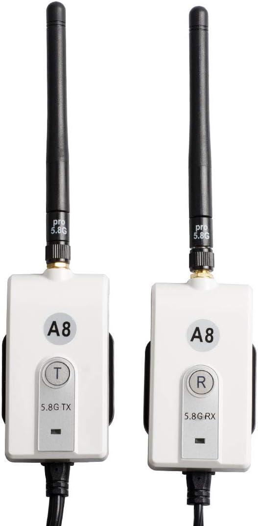 Kit /émetteur et r/écepteur vid/éo sans fil Sumicline 23A8 5.8G pour syst/ème de stationnement en marche arri/ère pour moniteur