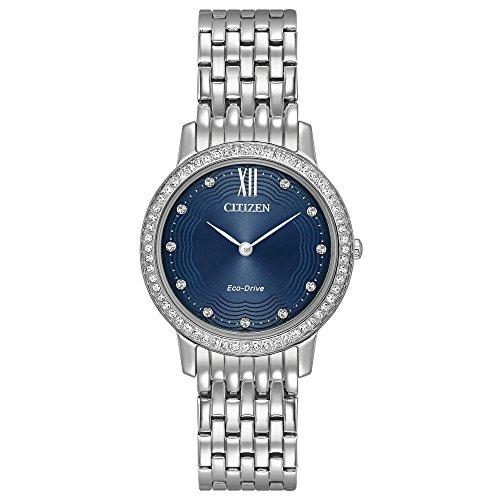 Citizen Eco Drive Stainless Silhouette Crystal