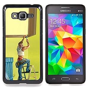 Eason Shop / Premium SLIM PC / Aliminium Casa Carcasa Funda Case Bandera Cover - Stripper Gay Sexy - For Samsung Galaxy Grand Prime G530H / DS